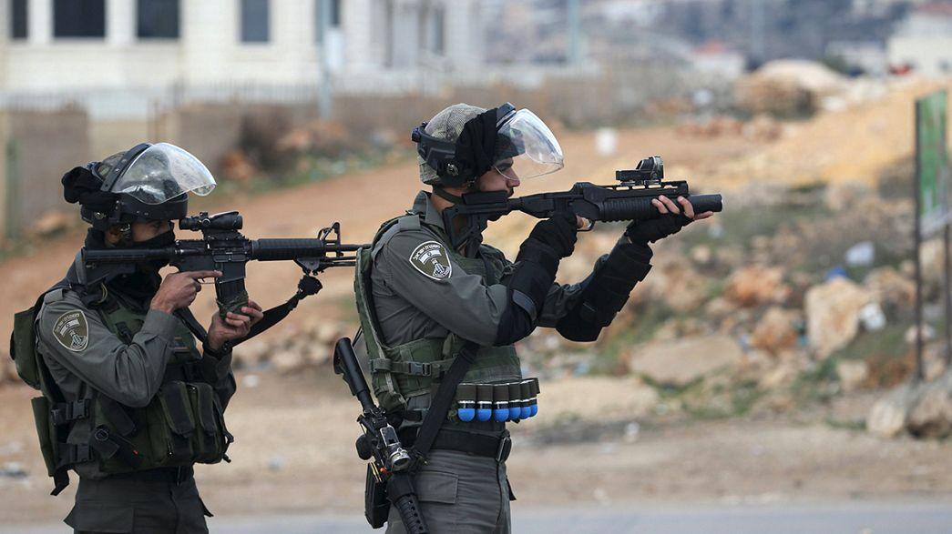 Violência entre palestinianos e israelitas continua