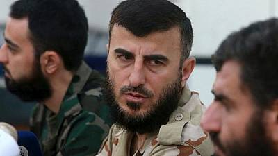 Top Syrian rebel leader killed, group confirms death
