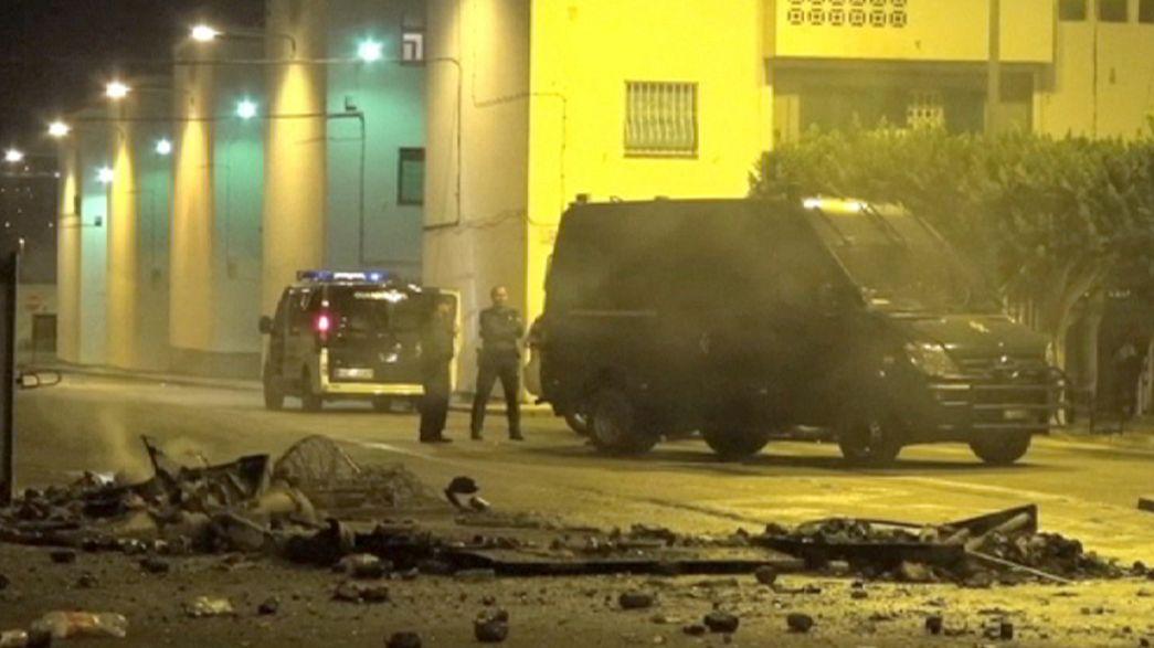 Regresa la calma a Roquetas de Mar tras la muerte de un inmigrante