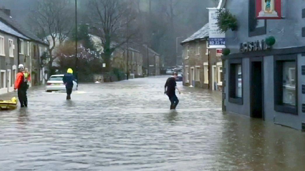 Las inundaciones ponen en alerta el norte de Inglaterra