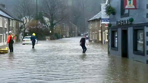 A chuva não dá tréguas no Reino Unido