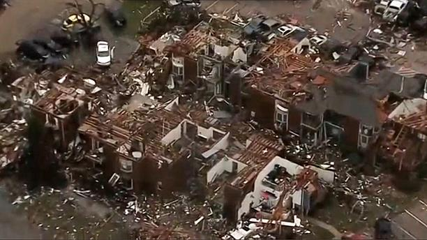 Deadly tornadoes in Texas