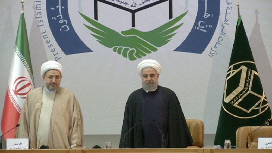 Irão: Hassan Rouhani apela à unidade dos países muçulmanos