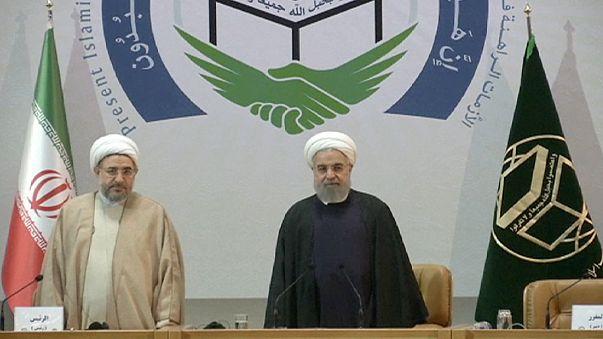 Muzulmán egységre és az iszlámról kialakult kép javítására szólított fel Rohani