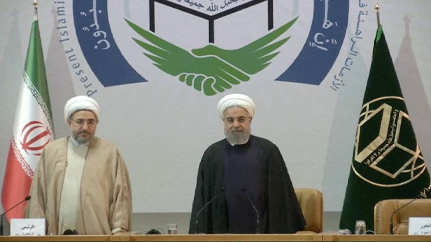 Iran's Rouhani urges Muslim countries to unite