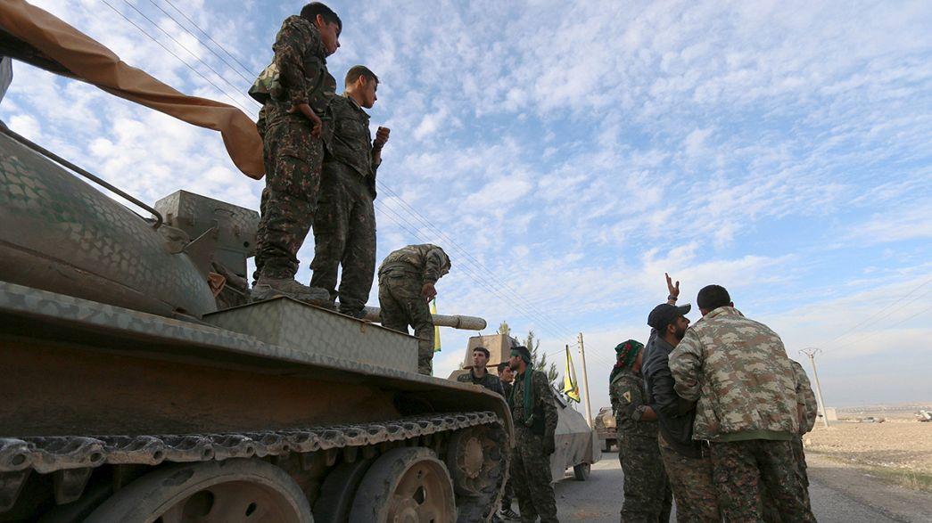 Gravi rovesci dello stato islamico in Iraq e Siria