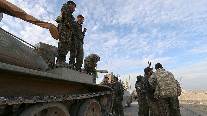 YPG Tişrin Barajı'nı alarak Fırat'ın batısına geçti