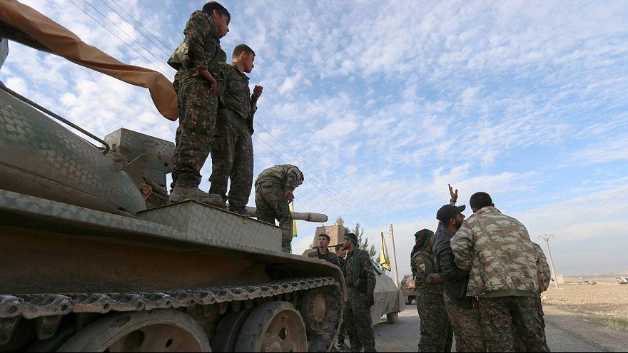 Folytatódó harcok Szíriában