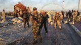 Combatentes do Estado Islâmico abandonam complexo estratégico na cidade iraquiana de Ramadi