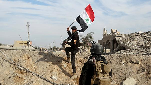 القوات العراقية تسيطر على المجمع الحكومي في الرمادي