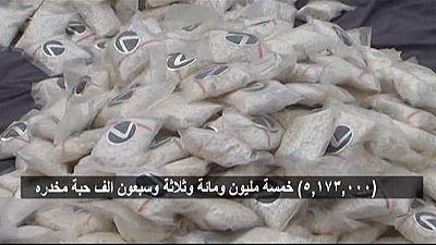 Millions of amphetamine pills seized in Saudi drugs bust