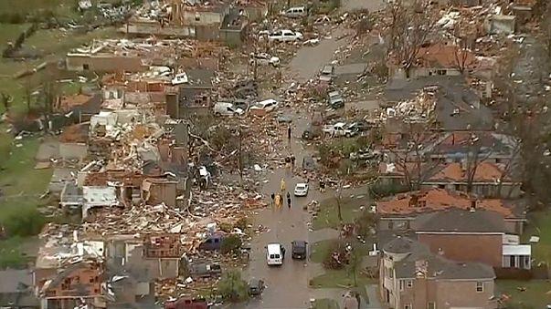 11 muertos tras un fin de semana de devastadores tornados en Texas