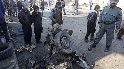 Taliban claims suicide car bomb blast near Kabul airport