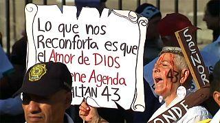 Protestas en México tras desaparición de estudiantes