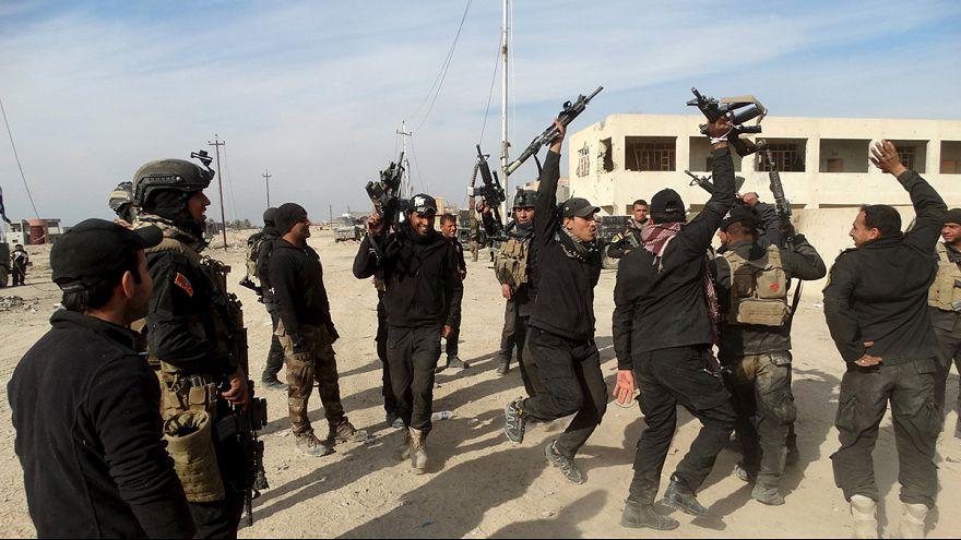 القوات العراقية تسترجع الرمادي