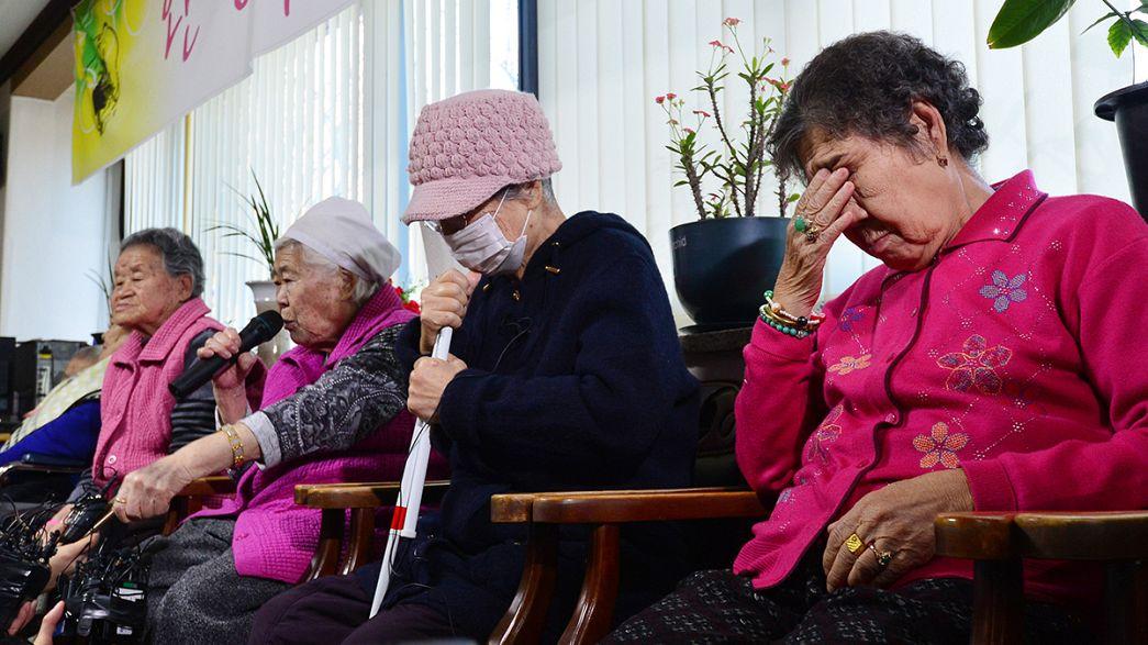 """Accord historique entre le Japon et la Corée du Sud sur les """"femmes de réconfort"""""""