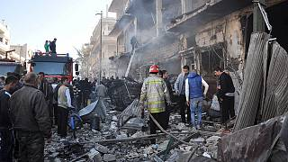 Triple atentado en la ciudad siria de Homs con una treintena de muertos y más de un centenar de heridos