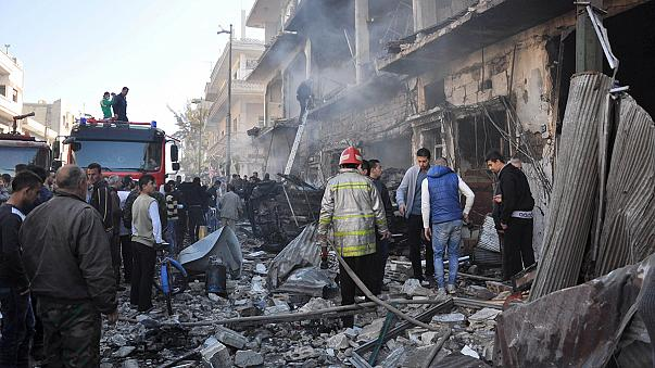 Syria: at least 32 dead, 90 wounded in Homs explosions - reports