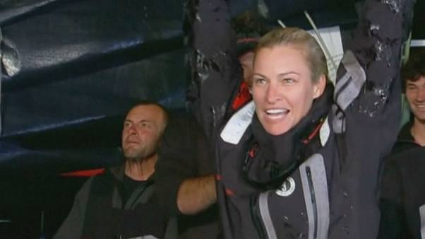 Sydney-Hobart Yat Yarışı'nda Comanche şov