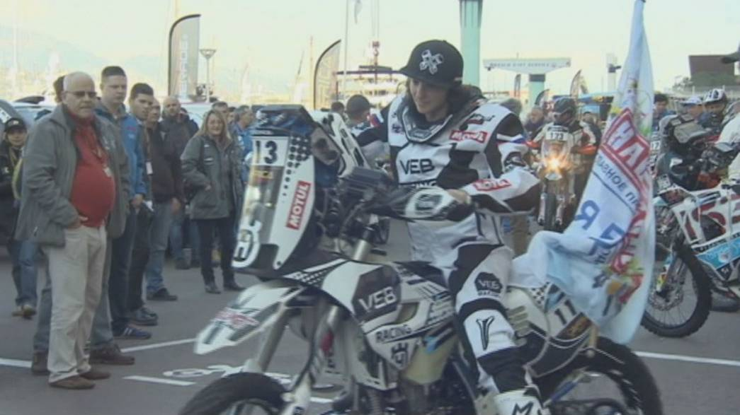 Africa Eco Race: Setting off from the 'temple of motorsport'