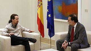 Pablo Iglesias reitera su 'no' a Rajoy