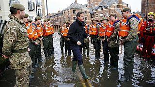 Беспрецедентное наводнение на севере Англии