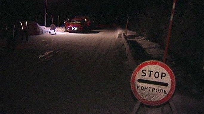 لاجئون يحاولون الدخول الى فنلندا عبر الحدود الروسية