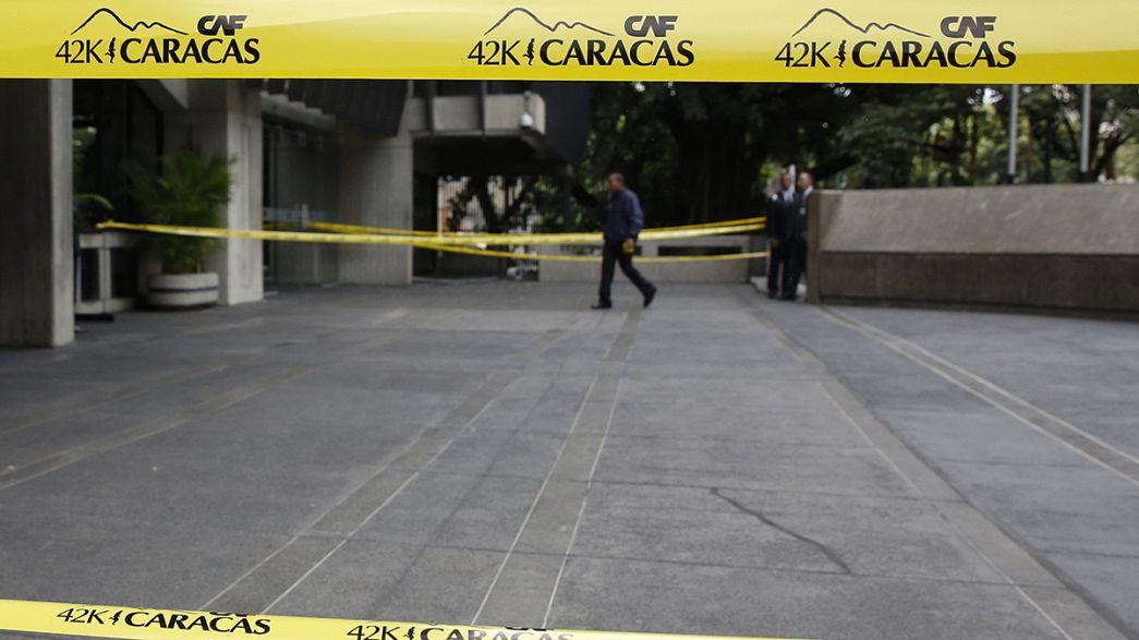 Venezuela: Um polícia e uma bebé mortos em ataque com granada em Caracas