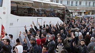 Suriye'de Beyrut ve Hatay üzerinden yaralı takası yapıldı