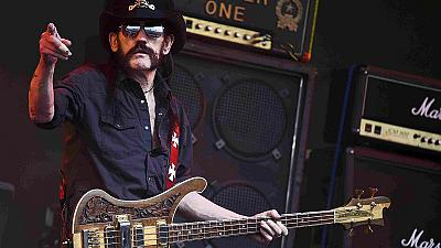 Motorhead frontman Lemmy dies at 70 after short cancer battle