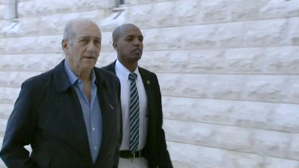 18 Monate Haft für israelischen Ex-Regierungschef Olmert