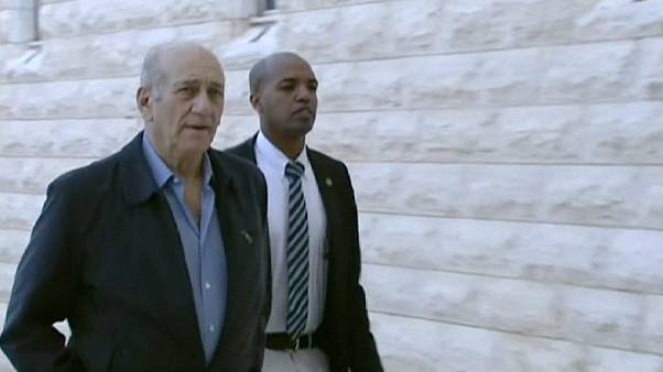 Former Israeli PM Ehud Olmert has bribery conviction partly overturned