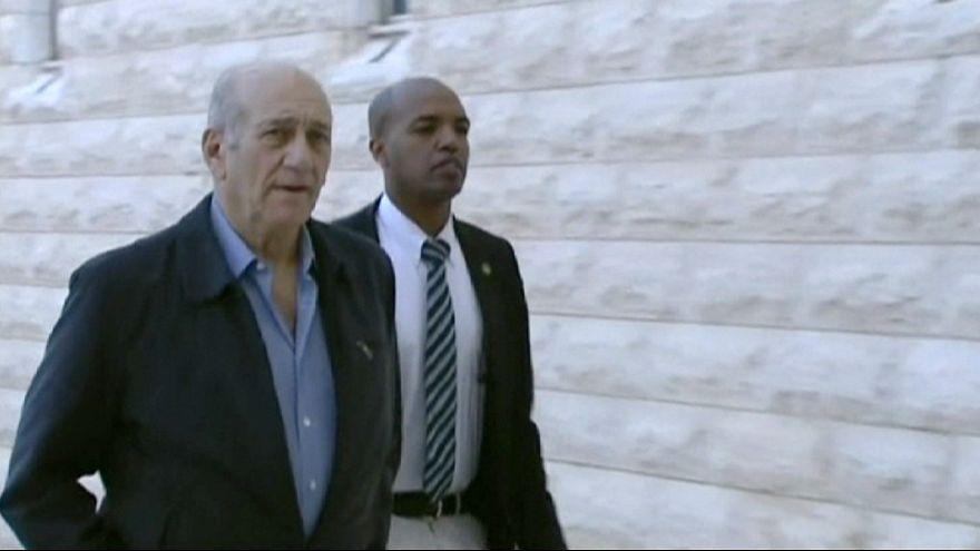 Condenado a 18 meses de prisión ex Primer Ministro de Israel