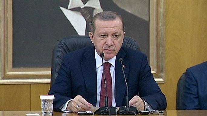 "Turkey's Erdogan slams pro-Kurdish Demirtas for ""provocation and treason"""