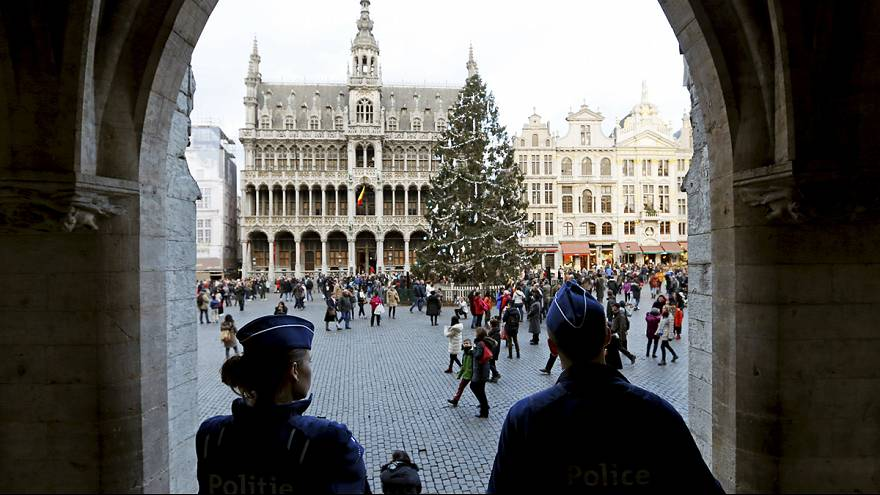 Two arrested over Brussels New Year plot