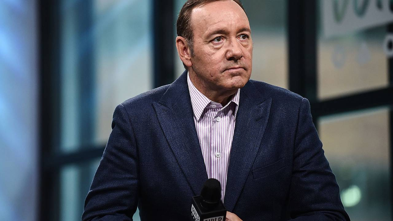"Image: Build Presents Kevin Spacey Discussing His New Play ""Clarence Darrow"