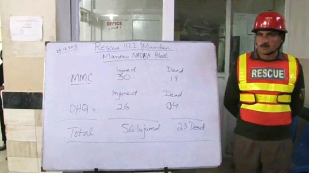 Al menos 29 muertos en un nuevo atentado al noroeste de Pakistán