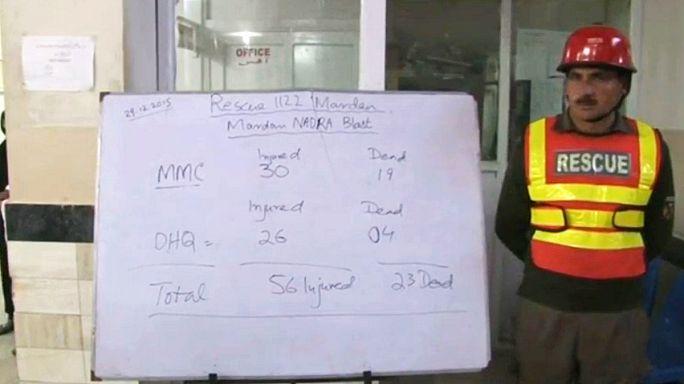 29 قتيلا على الأقل وأكثر من 70 جريحا في تفجير انتحاري في باكستان