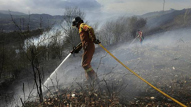"""Northern Spain wildfires """"under control"""" but alerts remain in place"""