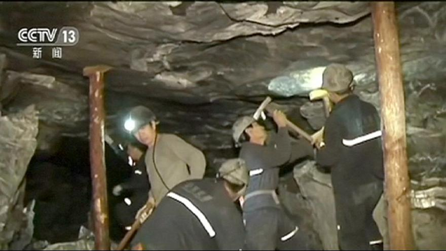 China: 11 rescued from mine collapse, 18 trapped