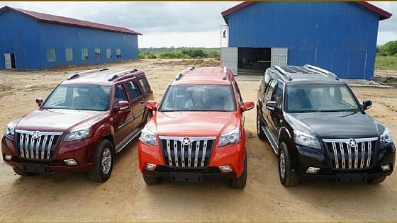 Ghana S First 4x4 Vehicle Goes On Sale Africanews