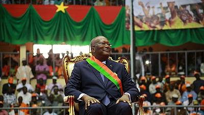 Burkina Faso swears in new president