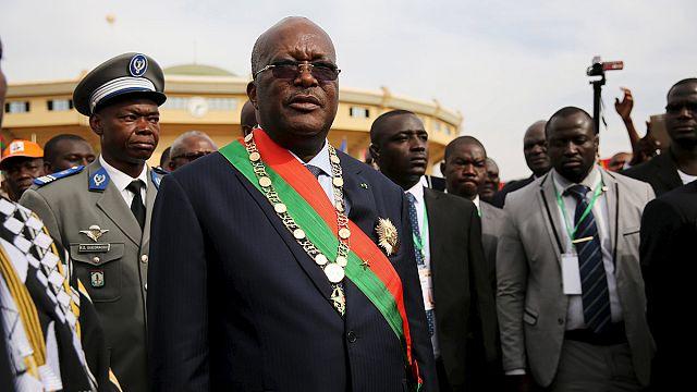 Burkina Faso'nun yeni lideri yemin etti