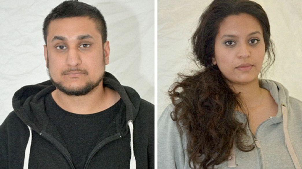Casal britânico condenado por planear ataque terrorista em Londres