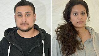 Un couple britannique reconnu coupable d'avoir fomenté un attentat