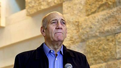 Former Israeli PM Ehud Olmert's jail term reduced to 18 months