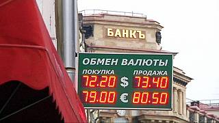 Russie : le rouble au plus bas depuis plus d'un an face au dollar