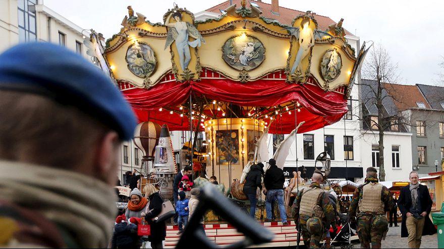 В европейских столицах в канун Нового года усилены меры безопасности