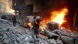 Deraa: a szíriai ellenzék egyik fellegvárát ostromolja a hadsereg