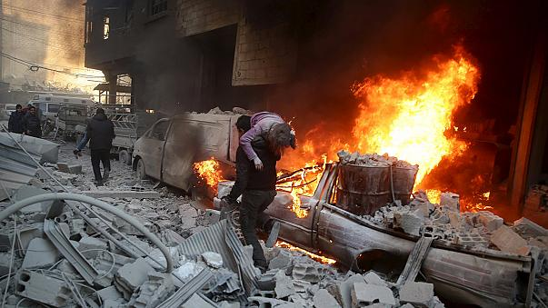 قوات النظام السورية تدخل مدينة الشيخ مسكين في درعا